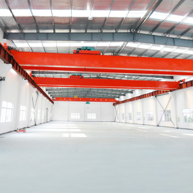 20T 30T European Style Double Girder Overhead Crane For Lifting Steel Billet supplier