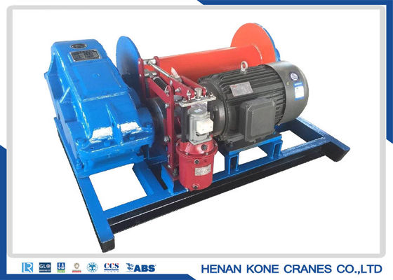 28m/Min 5000kg 300m Electric Hoist Winch , Wire Rope Pulling Winch