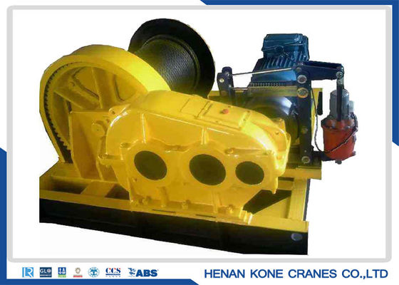 Overload Protection 250KN Electric Hoist Winch , Electric Pulley Winch